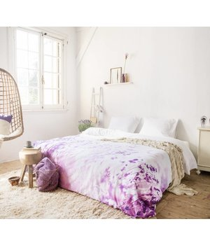 Scent of Nature Katoen bedovertrek 'lavender''