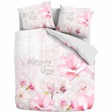 Essara katoen bedovertrek ''morning glory'' roze