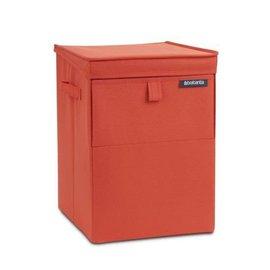 Brabantia Brabantia Stapelbare Wäschebox warm red