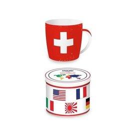 Porzellantasse Schweiz