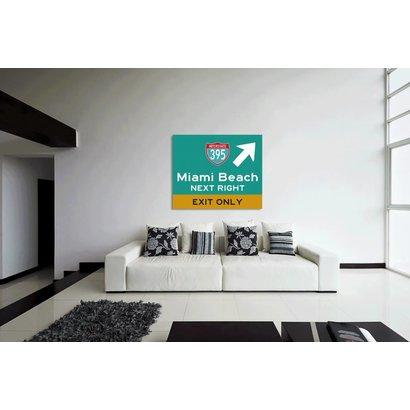 Airpart Art - Roadsign Miami Beach