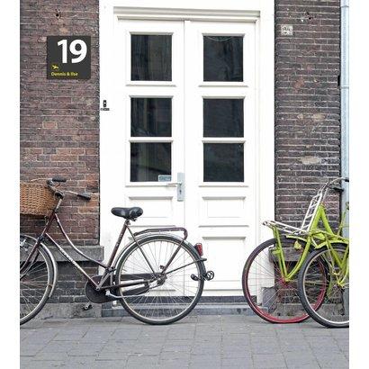Airpart Art - Huisnummer + voornamen van bewoners