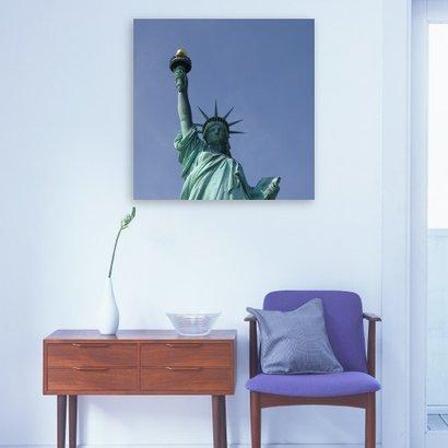 Foto op Dibond 100 x 100 cm