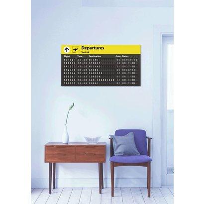 Airpart Art - Departures uitgebreid - Small Version