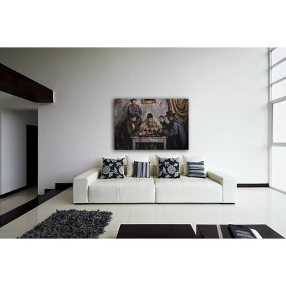 Airpart Art Collection - De Kaartspelers (brandglas)