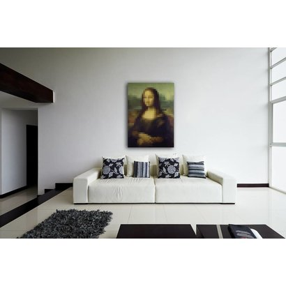 Airpart Art Collection - Mona Lisa (Pixels)