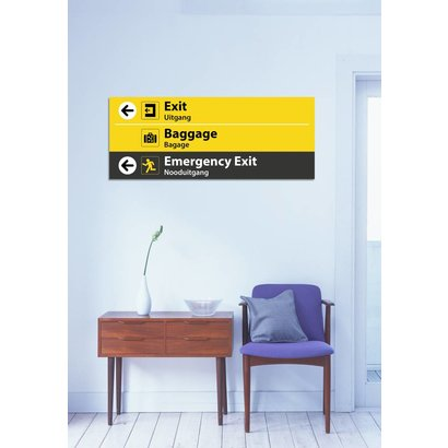 Airpart Art - Emergency Exit