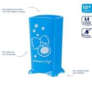 Difrax Pakjeshouder woezel & pip Blauw/Roze