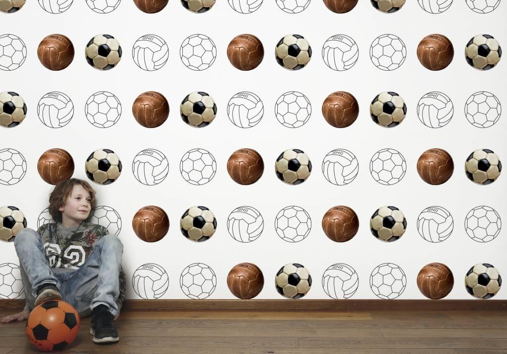 Behang voetbal bankstellen 2017 - Wallpapers voor kamer ...