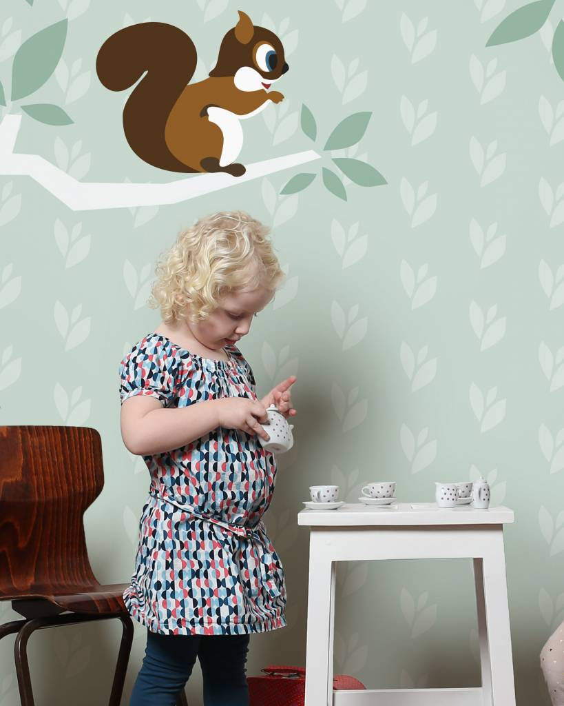 babykamer boom behang ~ lactate for ., Deco ideeën