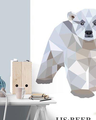 Behangpaneel ijsbeer