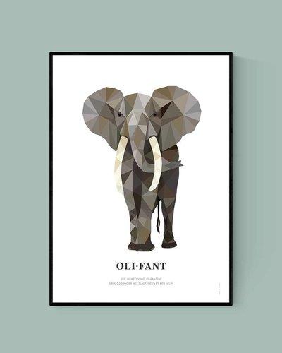 Poster olifant
