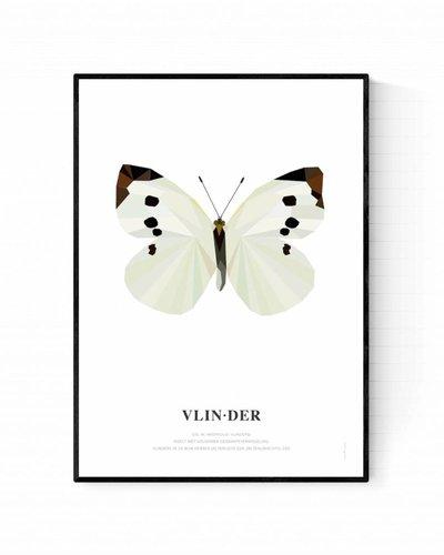 Poster vlinder