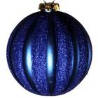 bal ca. 10cm verticaal streep donkerblauw