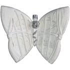 vr ornament vlinder ca. 15cm wit