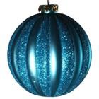 bal ca. 10cm verticaal streep lichtblauw