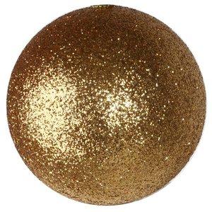 basis bal glitter ca. 10cm goud