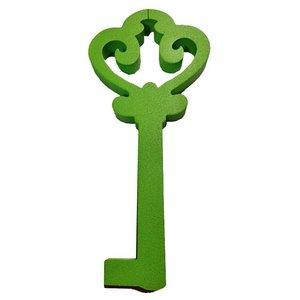 sleutel piepschuim groen ca 40cm