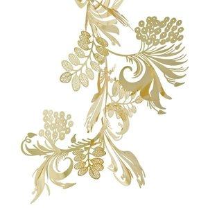 bladeren goud design