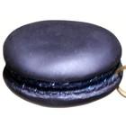 macaron rond donkerblauw