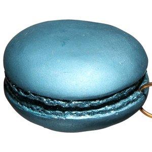 macaron ca. 8cm rond lichtblauw