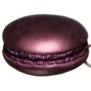 macaron koekje paars
