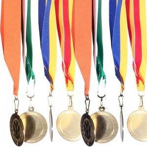medaille lint rood geel