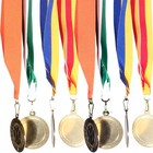 medaille lint blauw geel