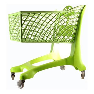 winkelwagen groen