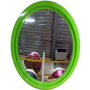 spiegel ovaal groen ca 65 x 87 x 4cm