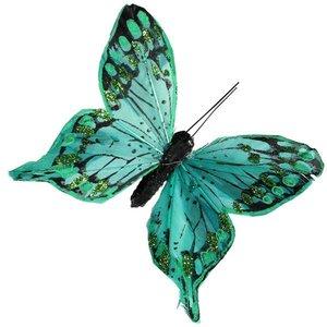 vlinder lichtgroen per 10