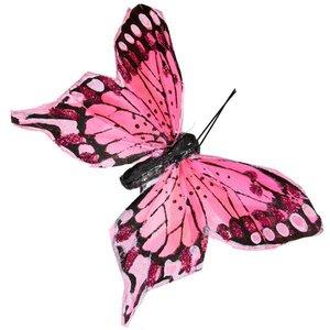vlinder roze per 10