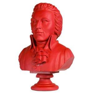 Buste Mozart rood