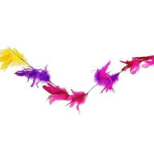 Kronkel tak veren kleur