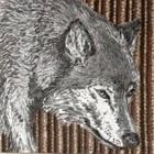 Doek wolf ca 300 x 240cm
