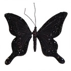 Vlinder Viktor & Rolf zwart medium per 3