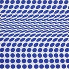 doek blauwe stippen golf ca. 225 x 225cm