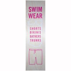 Paneel ca 37 x 0,5 x 130cm Swim