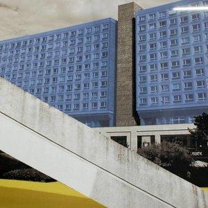 doek liberty blauwe flat ca. 350 x 250cm