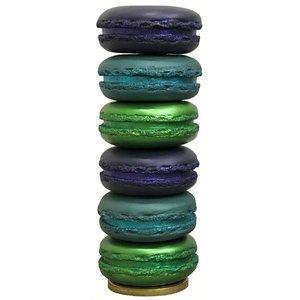 macarons XXL stapel blauw groen