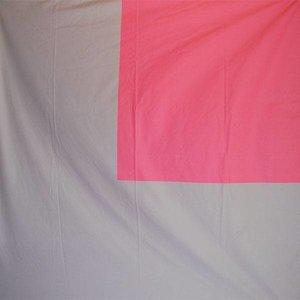Doek grijs roze vierkant ca 225 x 225cm