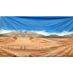 Doek woestijn ca 225 x 225cm