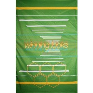 Doek winning looks groen ca 157 x 225cm