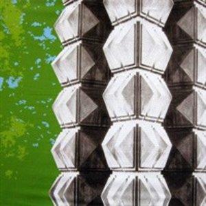 Doek vive la mode groen ca 300 x 240cm