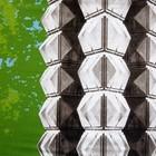Doek Vive la Mode groen ca 200 x 250cm