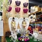 kroonluchter ballen lila