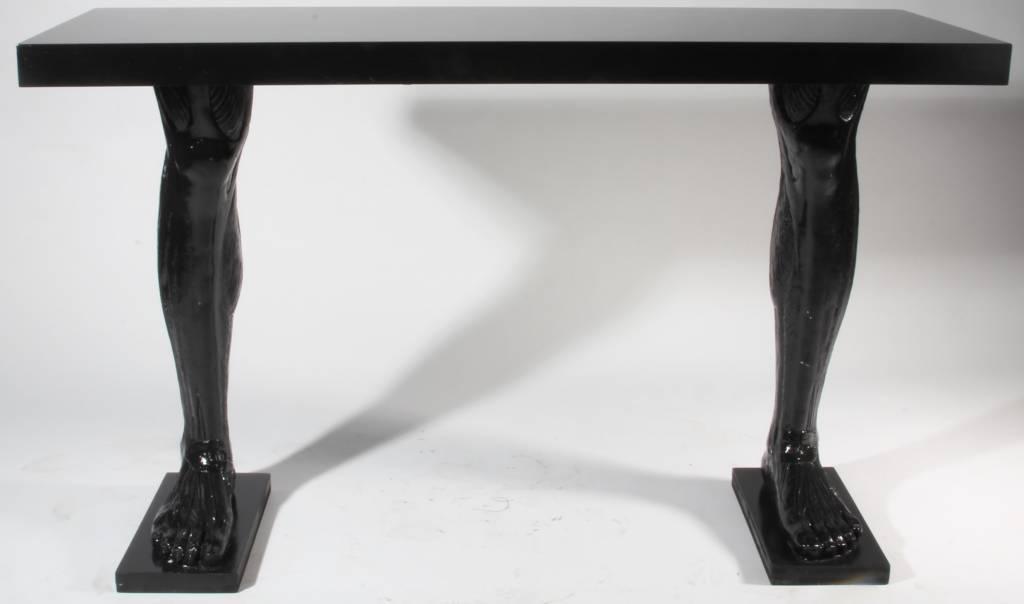 benen op tafel