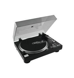 OMNITRONIC OMNITRONIC DD-2520 USB turntable bk