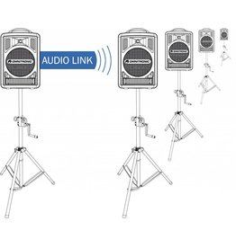 OMNITRONIC OMNITRONIC ALT-105 Audio link module WAMS-05