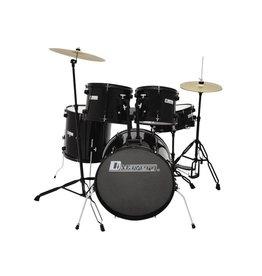 DIMAVERY DIMAVERY DS-200 Drum set, black